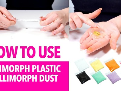 How to use Ellimorph plastic and Ellimorph dust