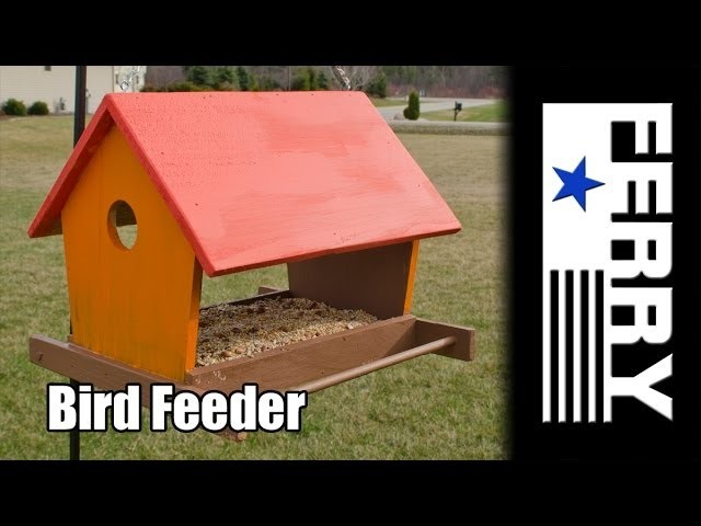 Ⓕ Making A Bird Feeder (ep1)