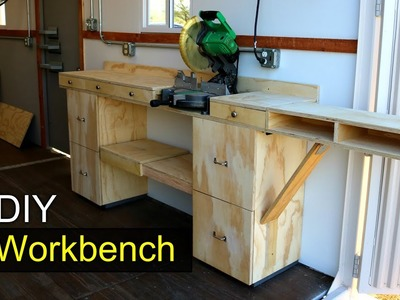 Modular Workbench. Shipping container SHOP - DIY How To