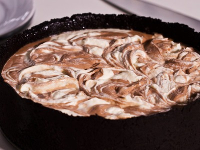 No-Bake Nutella Swirl Cheesecake