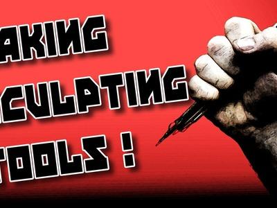 Sculpting Tutorial: Make your own sculpting tools