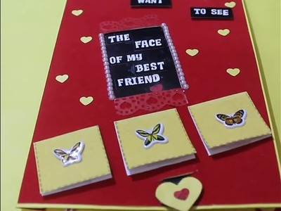 Special Card For Best Friend | Friends Forever Card | Missing You Card | By Neet's Creations