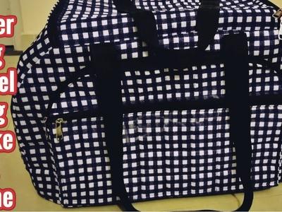 Super Big Travel Bag Make At Home Diy