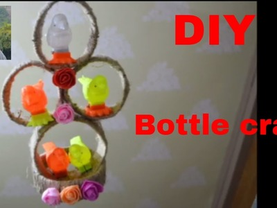 Wall Hanging By Waste Bottle | Best Out Of Waste Bottle | NIDHI JAIN
