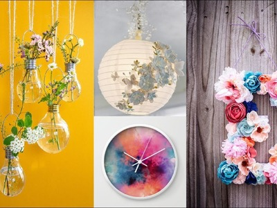 15 SUPER COOL DIY ROOM DECOR YOU NEED TO TRY THIS SUMMER ! JUN 2017