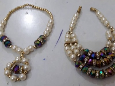 3 - easy way of making jewellery for your deity - make garland in easiest way