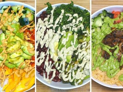 3 Veggie Bowls Veganos Rápidos y faciles | Neto Vlog 26
