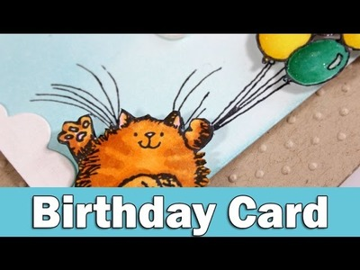 Birthday card | Penny Black Day 3