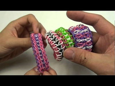 CLOSED - Rubber band bracelets giveaway. Made with Rainbow Loom® Kit. Enter now!!!