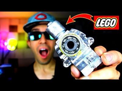 DIY Fidget Spinner GIANT LEGO GALLIUM!