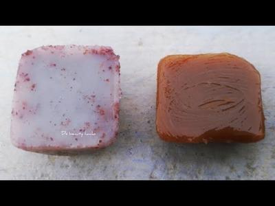 DIY Homemade lotion bar. creamy bar