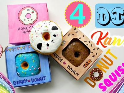 DIY Kawaii Donut Squishies! | mishcrafts