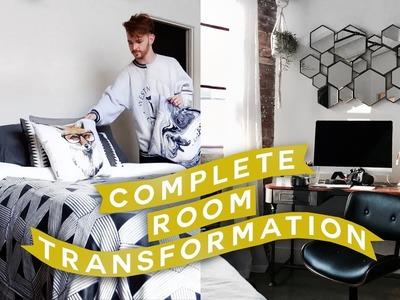 EXTREME ROOM MAKEOVER + Decorate with Me. Moving Vlog #3 ???? Imdrewscott