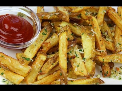 Garlic Parmesan Fries Recipe - CaribbeanPot com