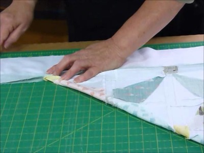 How to add more than one quilt border with mitred corners - Quilting Tips & Techniques 169