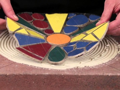 How to Create a Mosaic Garden Paver Part 2