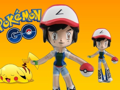How To Make Pokemon Ash Ketchum Custom Doll Tutorial  - Start With Toys