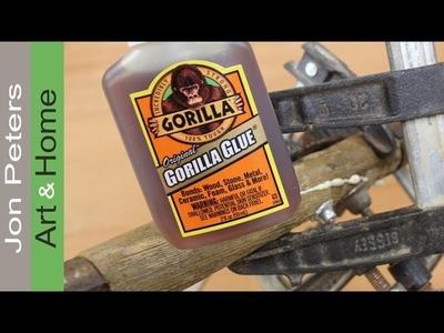 How To Use Gorilla Glue - Fix A Machete Shovel Handle