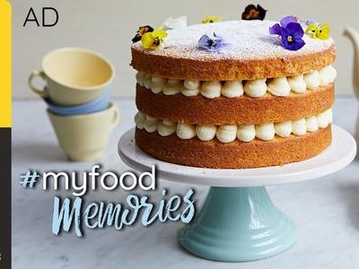 Lemon Sponge Cake   Cupcake Jemma   #MyFoodMemories   AD