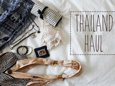 My Thailand Haul | Cheap finds, clothing & accessories!