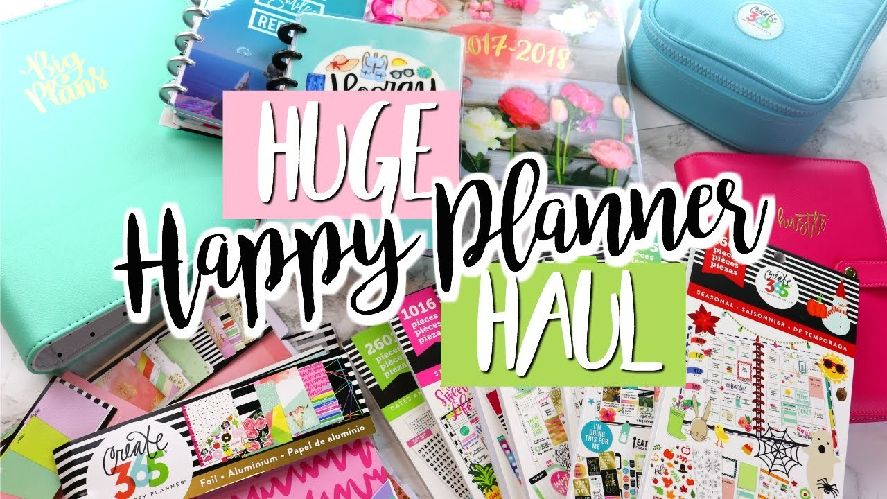 New happy planner accessories haul belinda selene my for Happy planner accessories