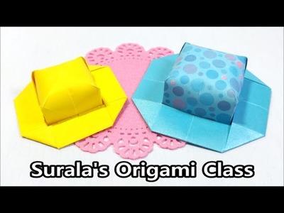 Origami - Hat (easy & cute)