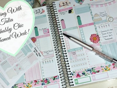 Plan With Me | Shabby Chic Themed!!