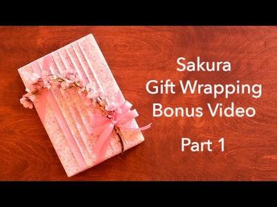 Sakura Gift Wrapping ???? Part 1