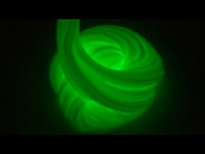 Slime ASMR - Glow in the Dark Slime 2