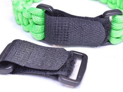 Strapz - Adjustable Velcro Buckles for Paracord Bracelets - BoredParacord
