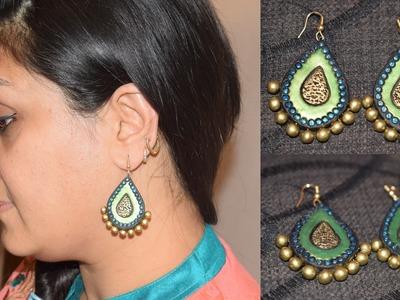 Terracotta Jewellery Making  || Terracotta Earring Making || Terracotta Earrings || WOMEN'S SPECIAL