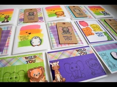 10 Cards 1 Kit | Simon Says Stamp April Kit 2017