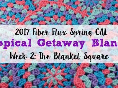 2017 Fiber Flux Spring CAL Week 2: The Blanket Square, Episode 399