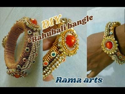 Bahubali bangle - Making of Devasena bangle   jewellery tutorials