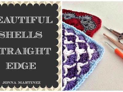 Beautiful Shells Blanket Straight Edge