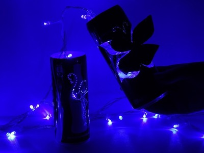 Butterfly Decor Lamp from Empty Soda Can  | How to Make Lamp or Candle Holder from Coca Cola Can