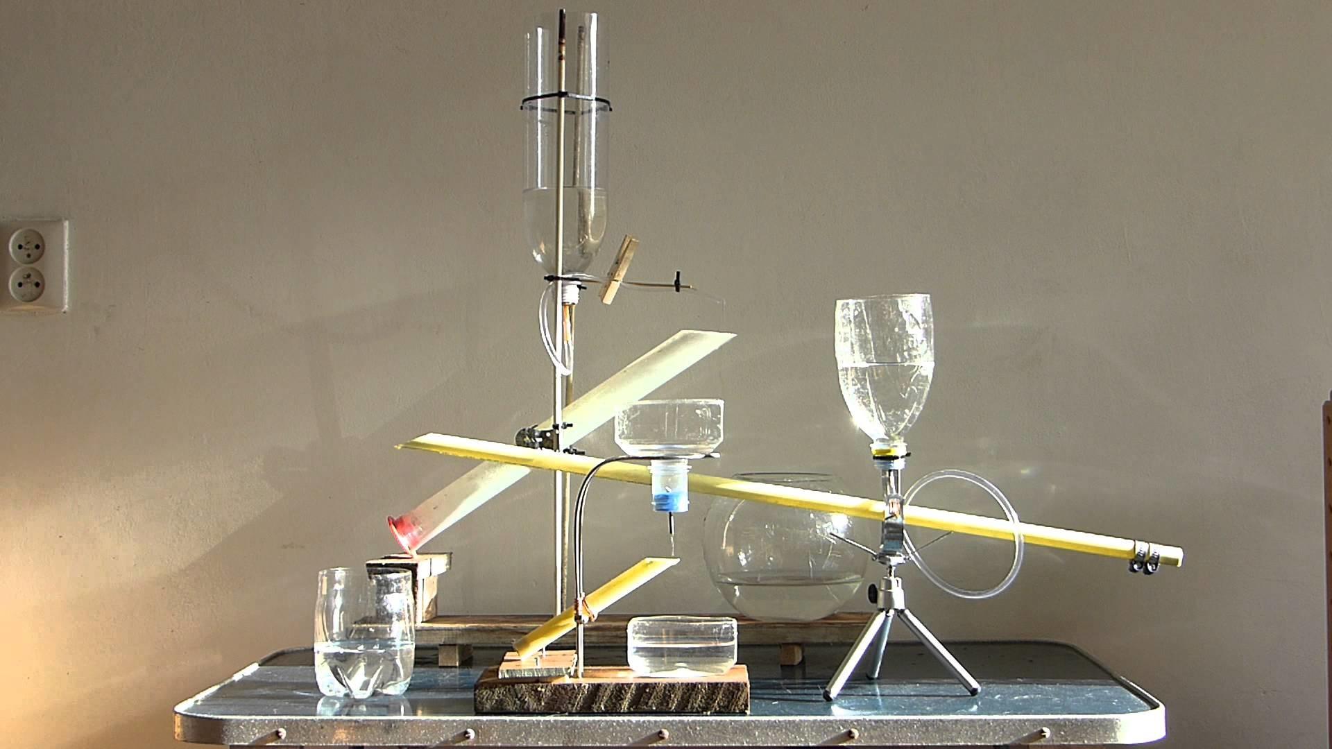 D.I.Y. Shishi Odoshi water objects