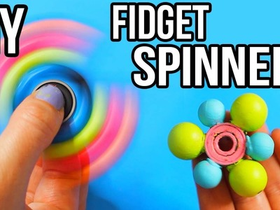 DIY 3 FIDGET SPINNERS YOU NEED TO TRY!