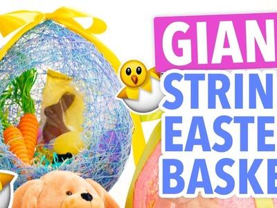 DIY Giant String Easter Egg Basket - HGTV Handmade