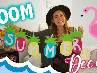 DIY Summer Room Decorations! Decor for Cheap!