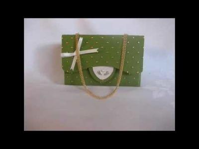 Doi Doi - Handmade luxury Christmas gift box.greeting card