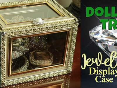 ????????????EZ Dollar Tree Jewelry Display Case: Do-it-Yourself Bling Case from Dollar Tree to YOU!