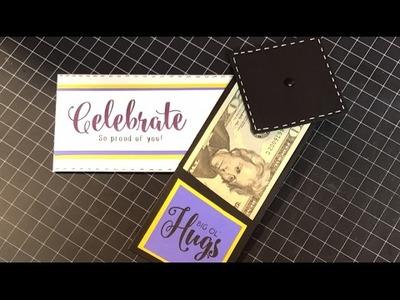 Graduation Slider Money Gift Card