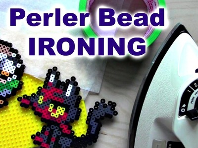 How I Iron Perler Beads (Masking Tape vs. Direct Fuse)