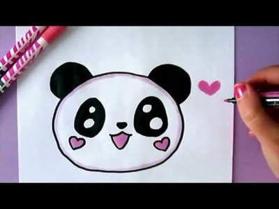 HOW TO DRAW A PANDA EMOJI