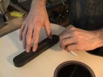 How to make a guitar:making a bridge part 1, with NK Forster