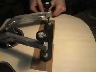 How to make a guitar:making a bridge part 2 with NK Forster