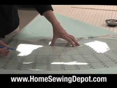 How to Make a Round Table Skirt