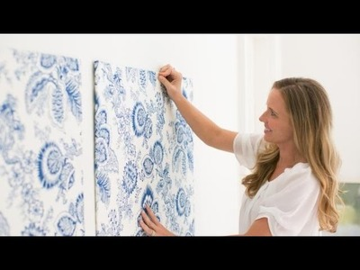 How to Make Temporary Wallpaper Panels