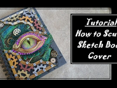 How to Polymerclay Journal Cover